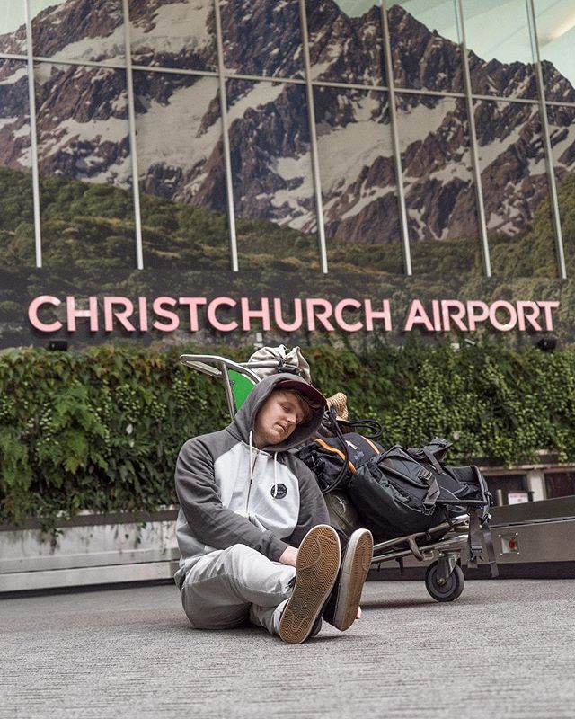 Where's your favourite Airport? The more I travel, the more I appreciate a good Airport. Christchurch was good! So many power stations to get your things charged, good food, lots of space. It's just a shame there's no where to sleep! Haha.