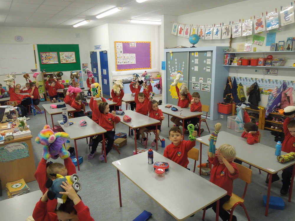 Show and Tell- All children brought in their Teddy Bear.JPG