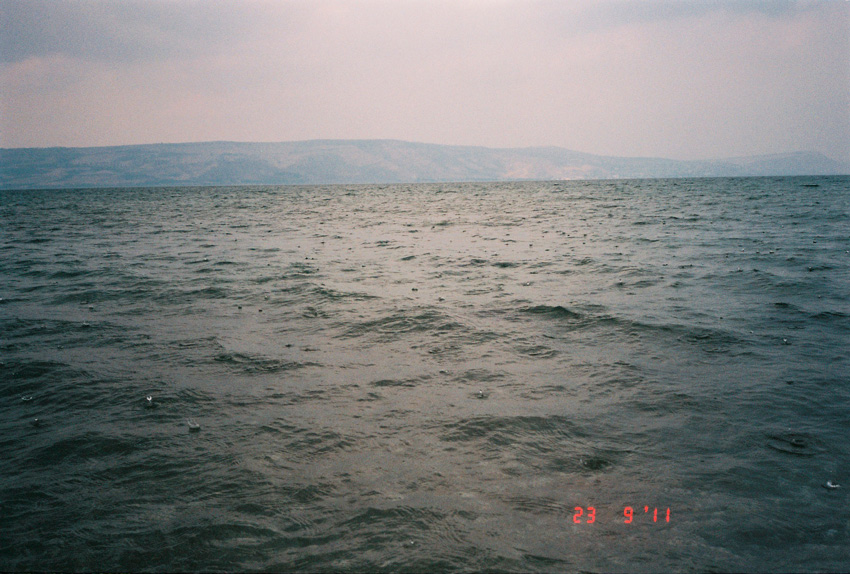 23.9.11 - sea of galilee