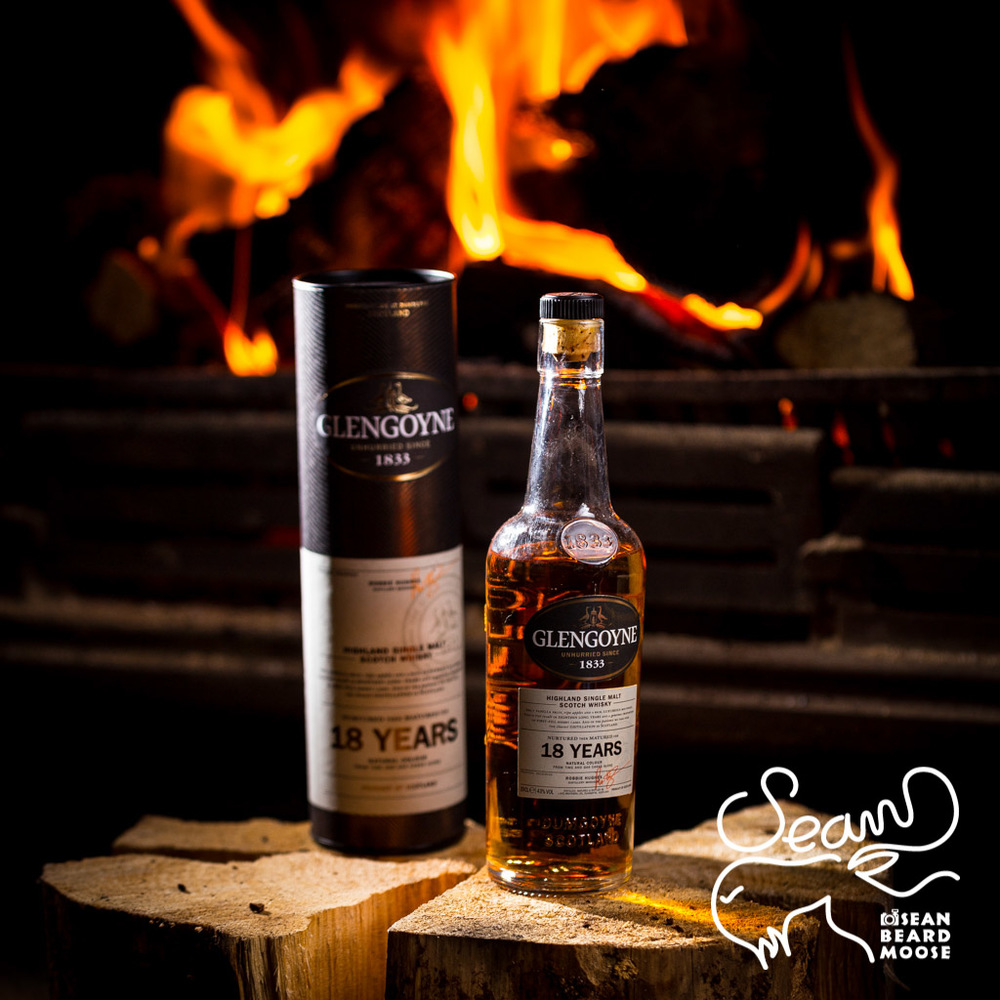 Glengoyne by the fire