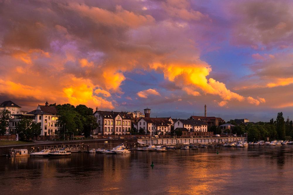 Heidelberg Sunset