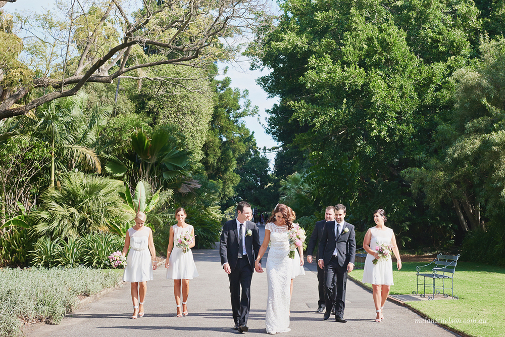 adelaide botanic gardens wedding photography
