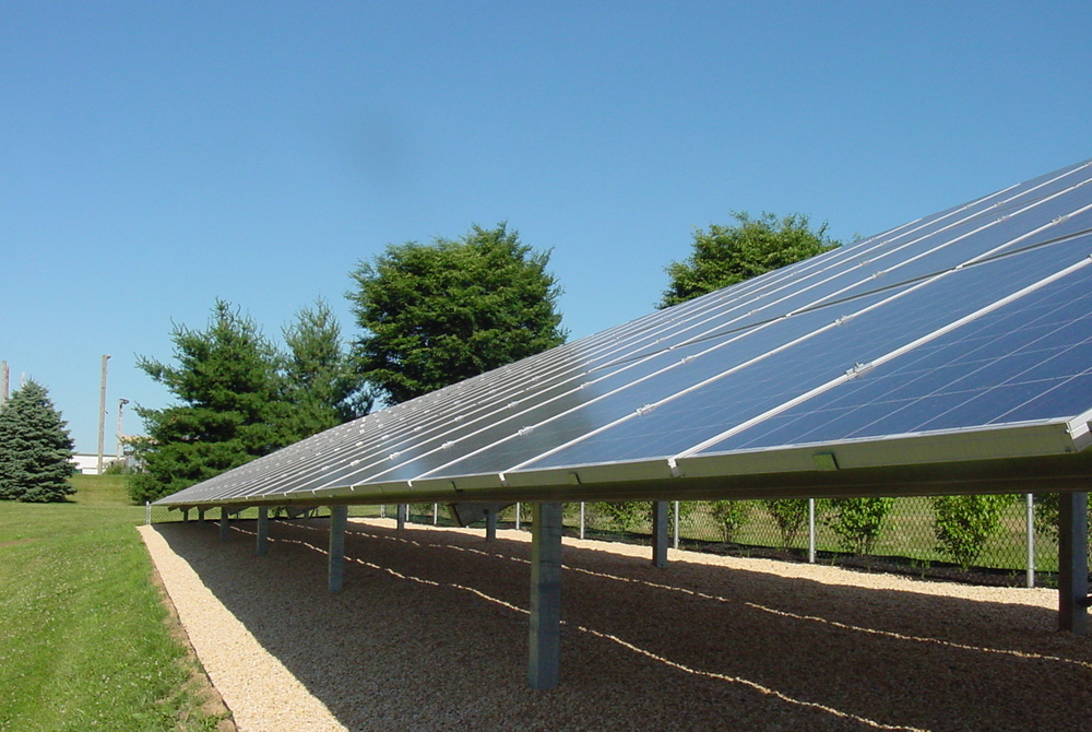 Solar Power Park Peripheral Installation
