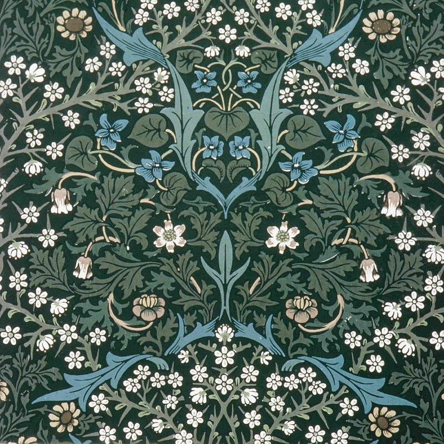 Arts and Crafts représenté par William Morris