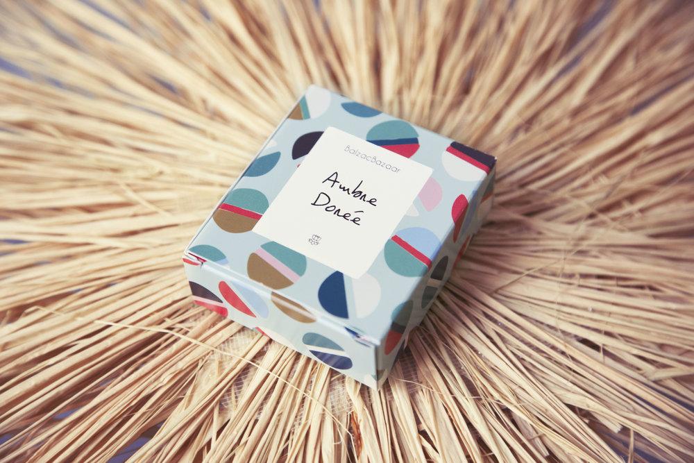 Parfum solide aux senteurs mythiques. -
