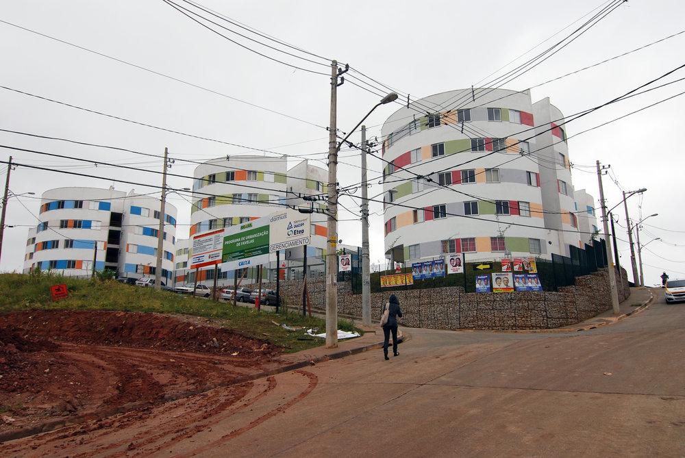 Urbanization of Favelas in Heliópolis