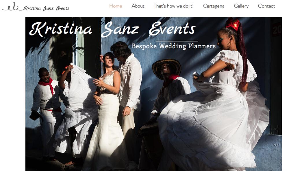 Kristina Sanz Events, Wedding Planner.