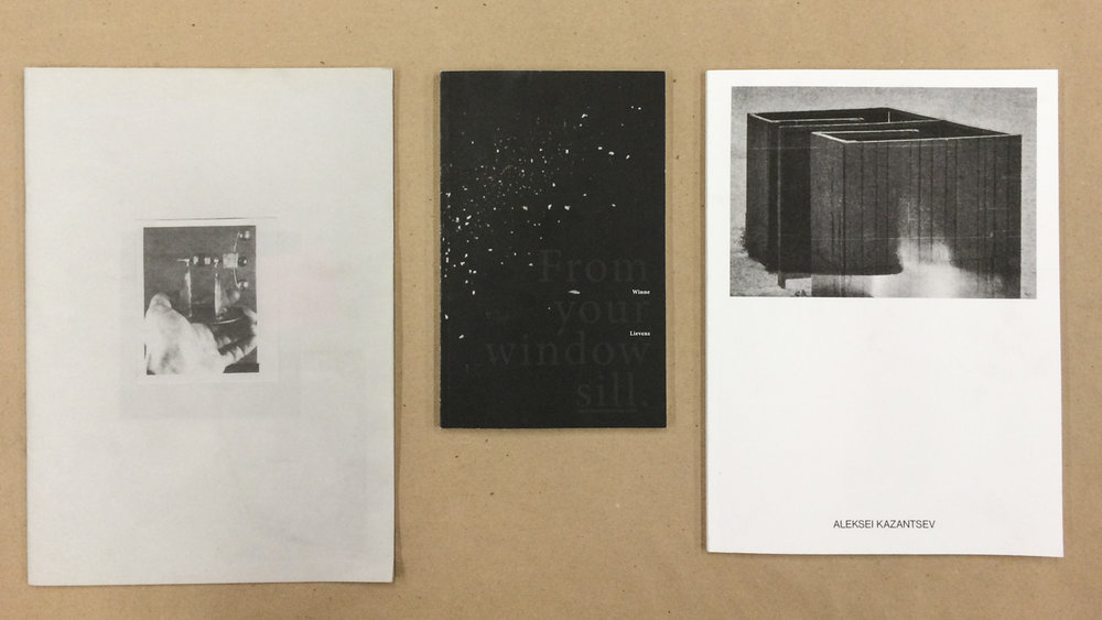 "From left to right: ""We're All Living on a Giant's Solar Model of the Universe"" by Erien Withouck, ""From Your Window Sill"" by Winne Lievens (winner) and ""Swell"" by Aleksei Kazantsev."