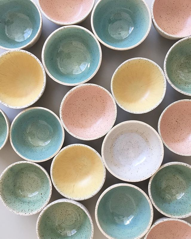 More pastel bowls 👐 #ceramica #wheelthrown #ceramics #handmadeinbarcelona