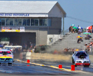 Watch drag racing at Grand Bend Motorplex.