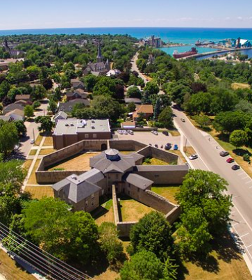 We take a tour of the Goderich Gaol where the last public execution in Canada took place.