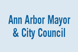races for Ann Arbor Mayor and City Council