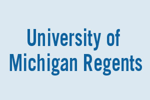 CANDIDATES FOR University of Michigan Regents