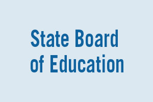 CANDIDATES FOR State Board of Education