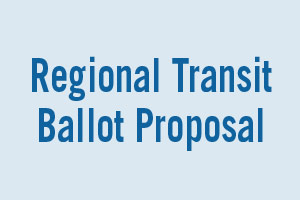 REGIONAL Tax proposal for Public TRANSIT in southeast michigan