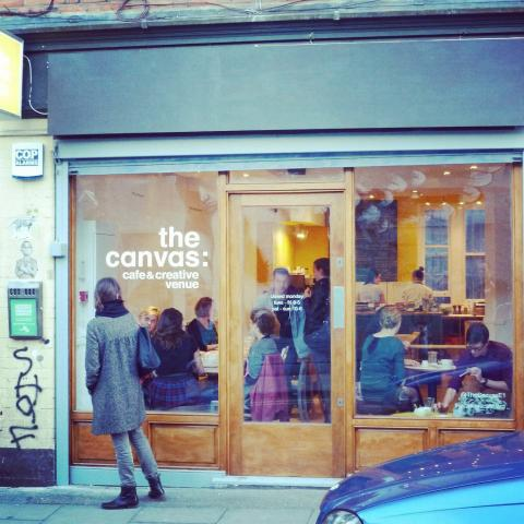 The Canvas Cafe - London Secular Mindfulness Compassion Meditation Drop-in Classes Shoreditch East London