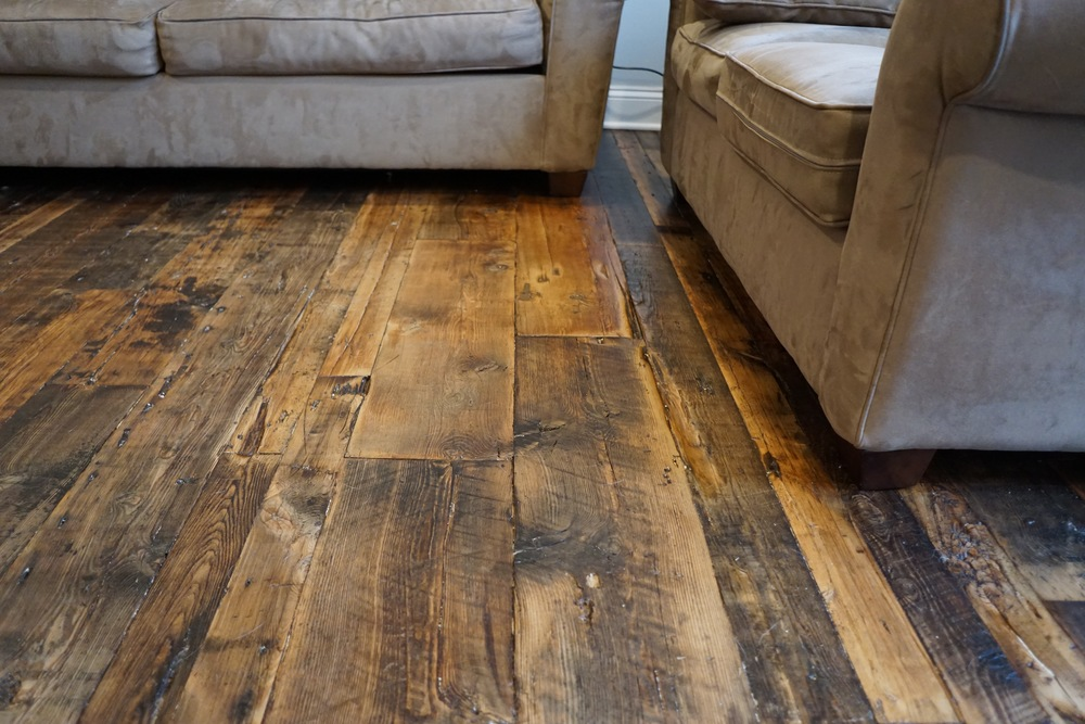 reclaimed wood flooring the woods are lovely dark and