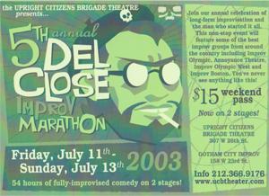 Del Close Marathon