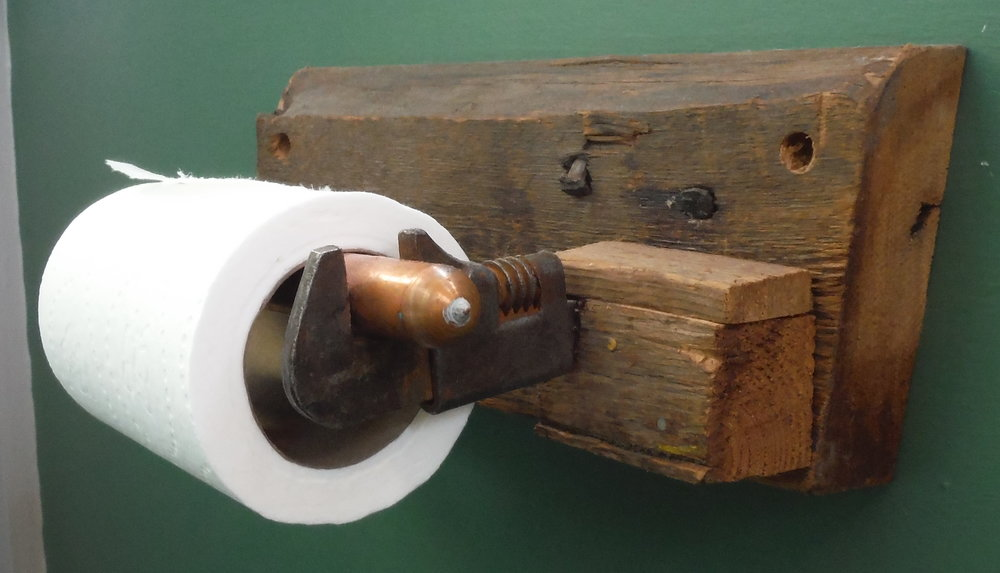 Monkey Wrench Toilet Paper Holder