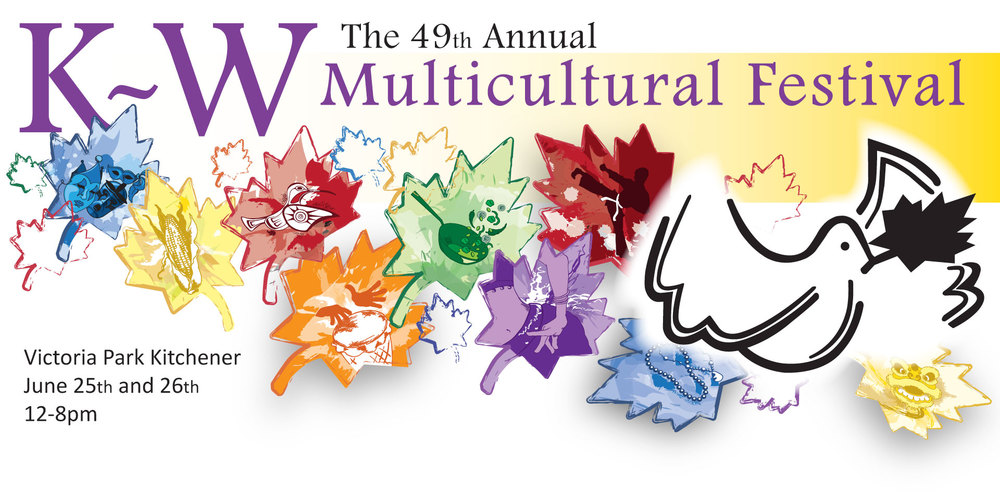 The world comes together at the 49th Annual Kitchener-Waterloo Multicultural Festival in Victoria Park Kitchener