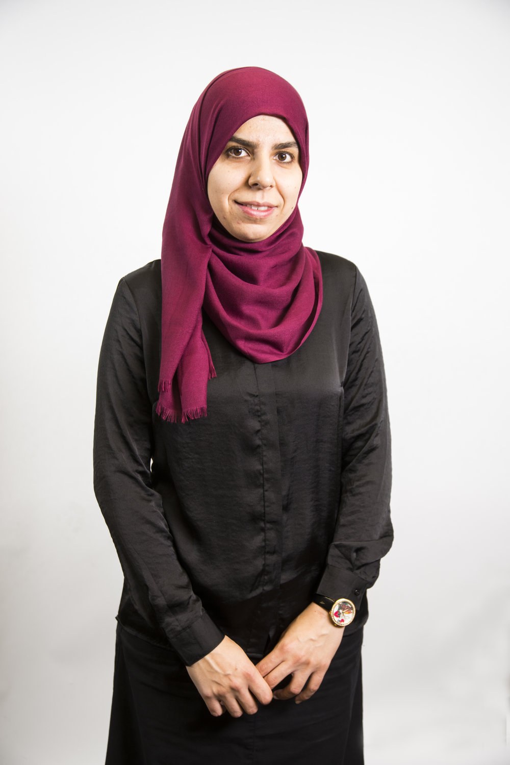 Omaima El Kebbe  (English, Arabic)  Omaima joined us in 2016 to help newcomers to Kitchener-Waterloo settle in Canada. She was born in Palestine and raised in Dubai, UAE. In 2009, she moved to Canada with her family and became a proud Canadian citizen in 2014.  She earned a B.Sc in Medical Laboratory Sciences from Haigazian University in Lebanon and a B.Sc. in Public Health from the University of Lethbridge.  Omaima loves working with newcomers to Canada and enjoys helping others reach their goals by providing support as they adjust to their new home.  In her free time she enjoys reading and baking yummy treats for her boys.