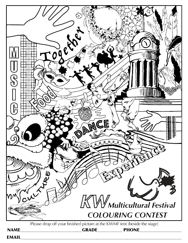 Colouring Contest — Kitchener-Waterloo Multicultural Centre