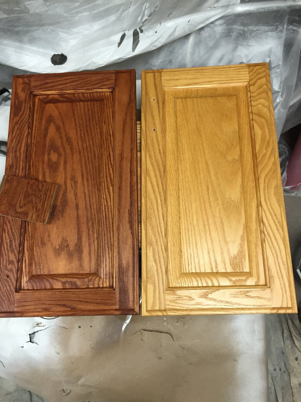 Before / After Kitchen Cabinets