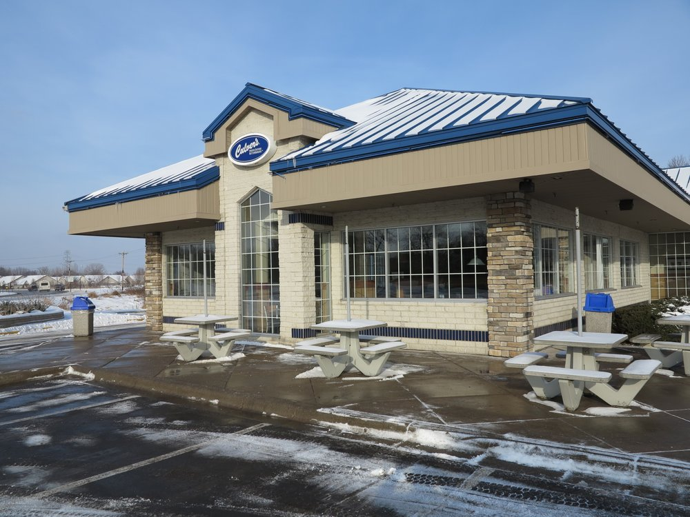 Culver's Restaurant. Painted by the crew at Elite Finisher.