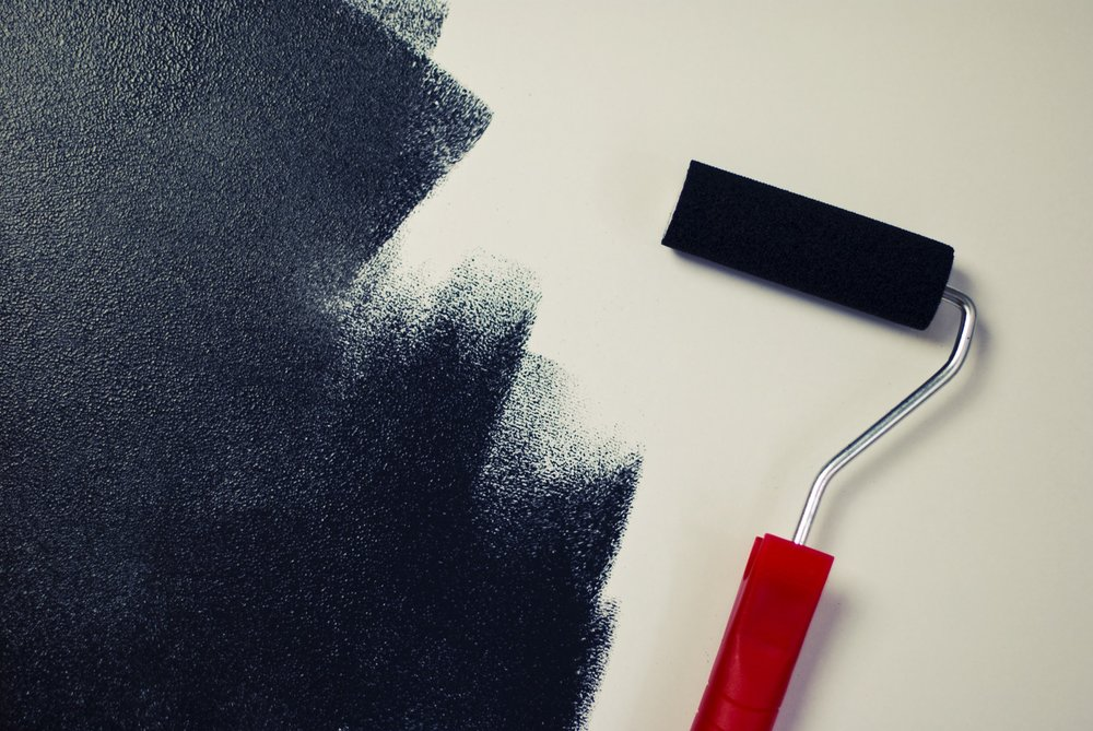 How To Paint with Black