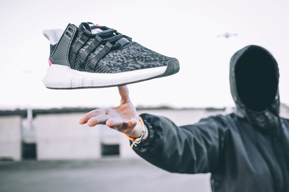 Adidas EQT Support 93/17 Mid Mastermind Black Shoes for sale in
