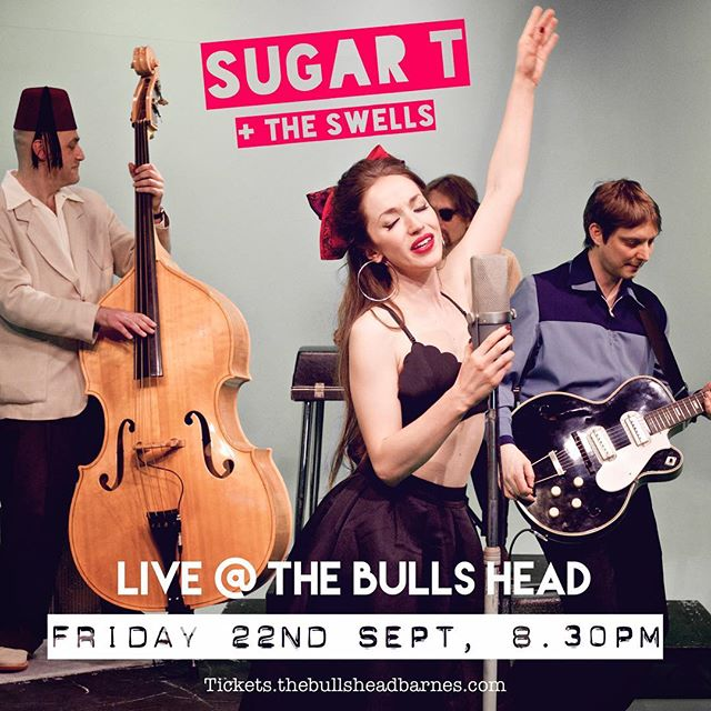 We're back at @bullsheadsw13 next Friday! Get your tickets quick... this always sells out!