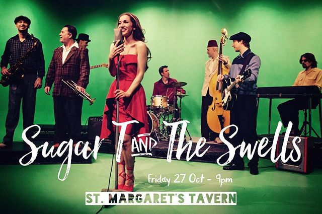 It's TONIGHT and it's free! Big tunes and a killer brass section from 9pm at @stmargaretstw1 . Have you seen our new video on our Facebook page? It's hit 25k views!