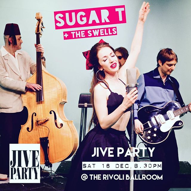It's our very favourite event of the year! It's the MOST fun! It's@jiveparty at the oh so gorgeous @rivoliballroom  Get your 50's glad rags on come on down to this crazy party. Don't know how to Jive? They'll teach you! DON'T MISS OUT  Ticket link in bio