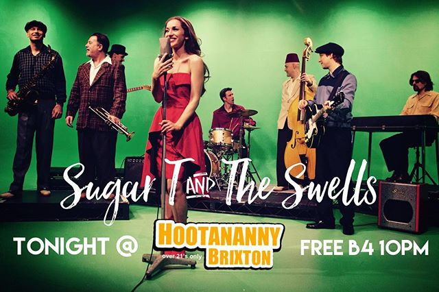 TONIGHT @hootanannybrixton