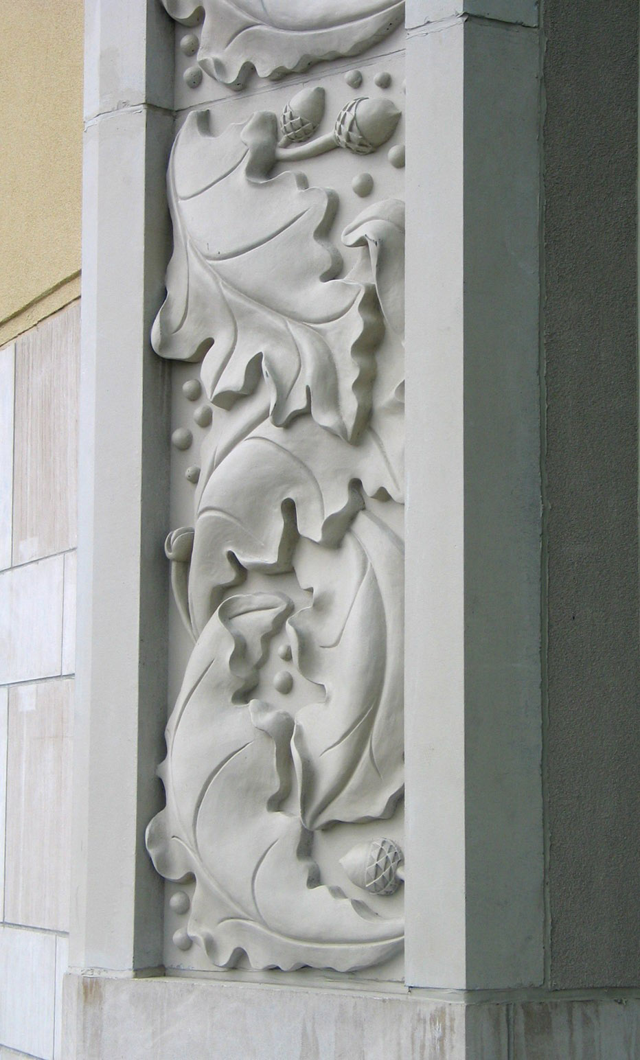 CONCRETE RELIEF, Oakville Mall, Ontario