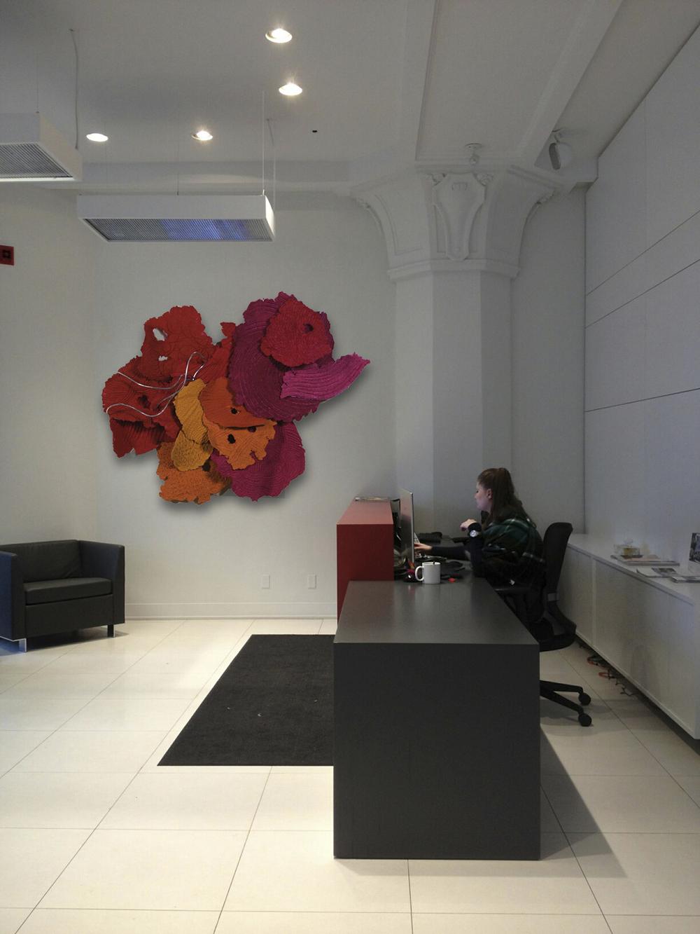 MARIGOLD, reception, office, Toronto