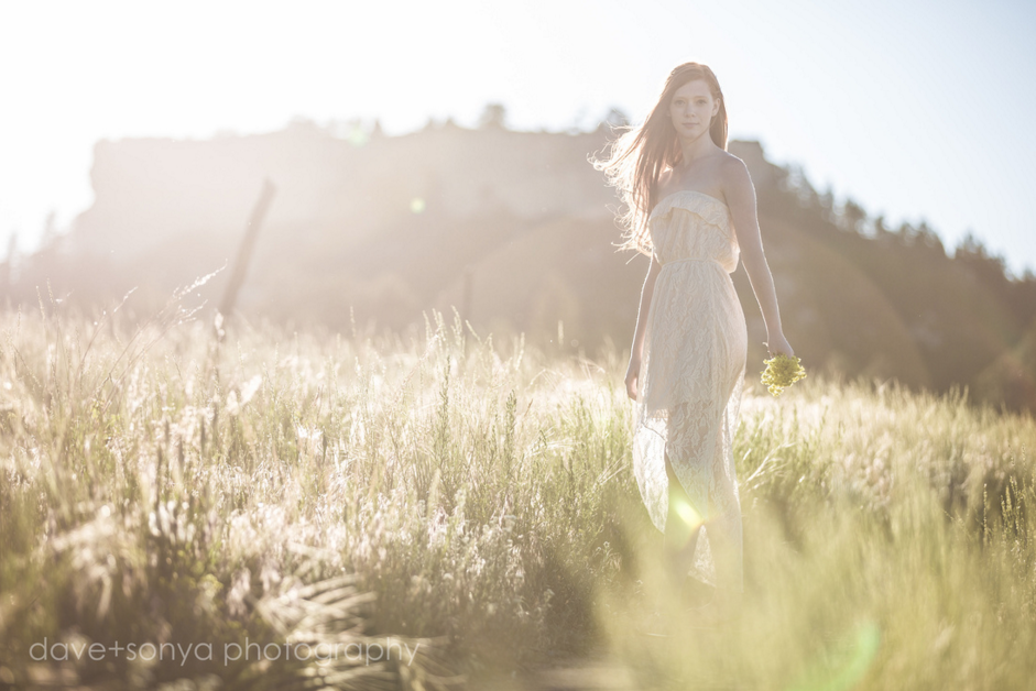 Grace photoshoot at Spruce Mountain, senior photography by dave + sonya photography