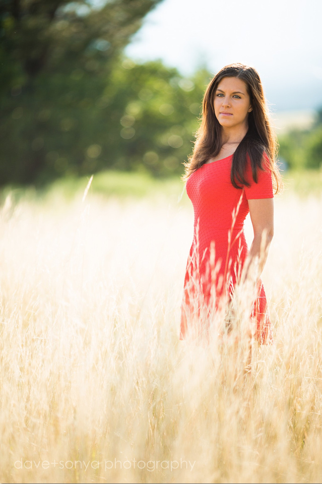 sarah senior photography in Colorado Springs by dave + sonya photography