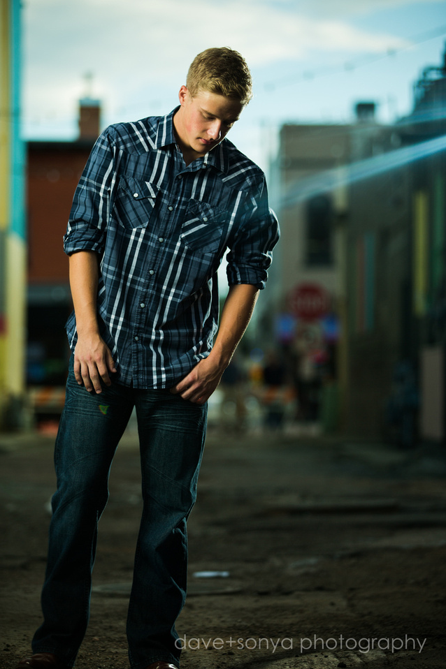 Trent, senior sessions in Colorado Springs by dave + sonya photography