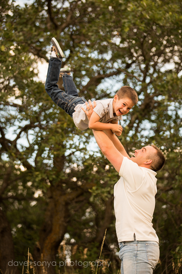 Brandon and Kim, family photography in Colorado Springs by dave + sonya photography
