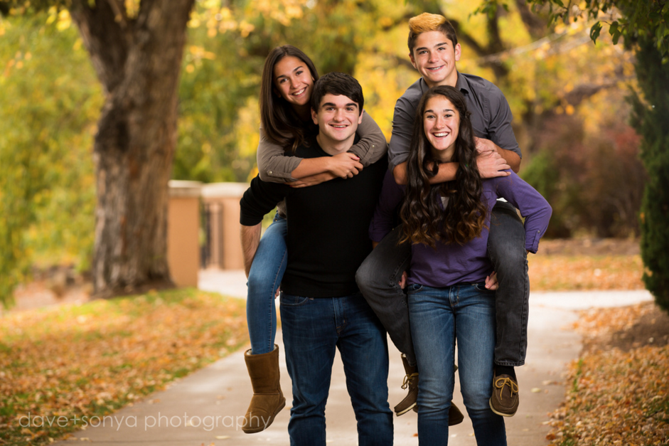 Burgo family in Colorado Springs by dave + sonya photography