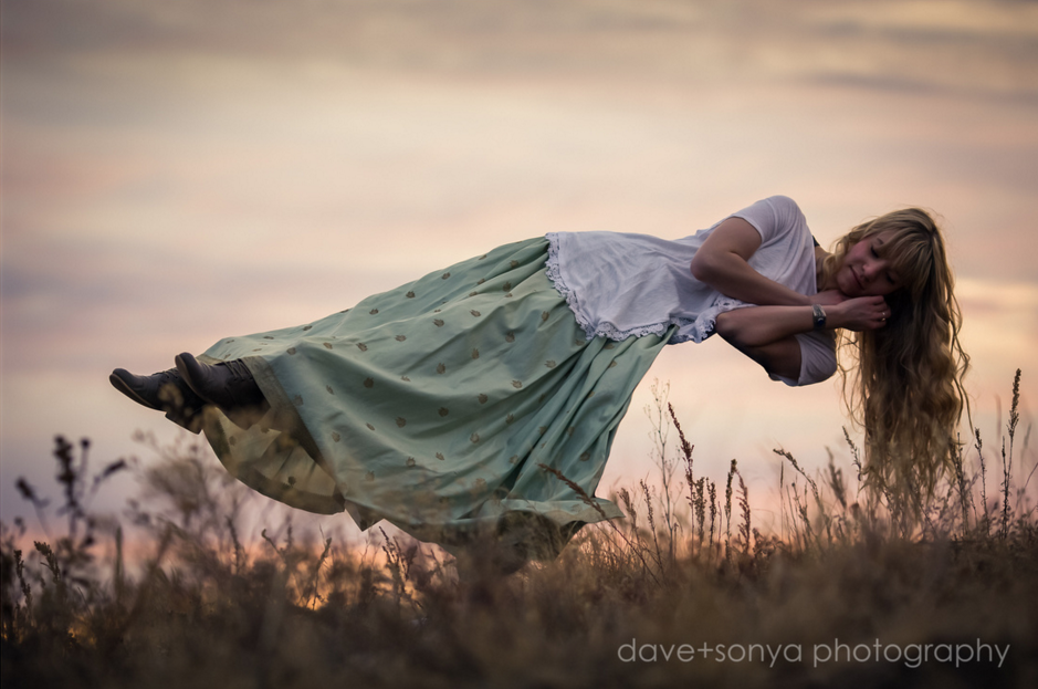 Levitation photography, creative sessions by dave + sonya photography in colorado springs