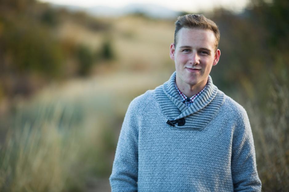 Jacob, Colorado Springs high school senior photos by dave + sonya photography
