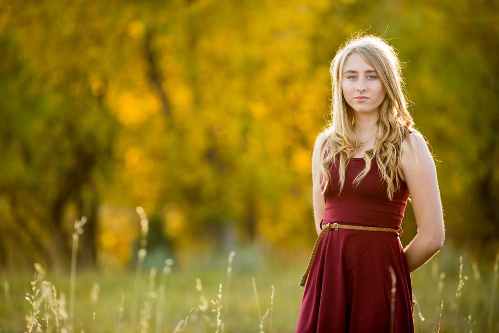 Karren, Colorado Springs high school senior photos by dave + sonya photography