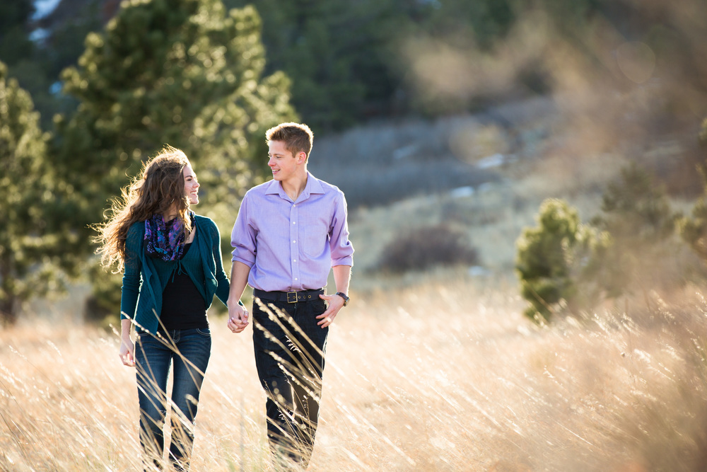brittany + adam, couples photography in Colorado Springs by dave + sonya photography