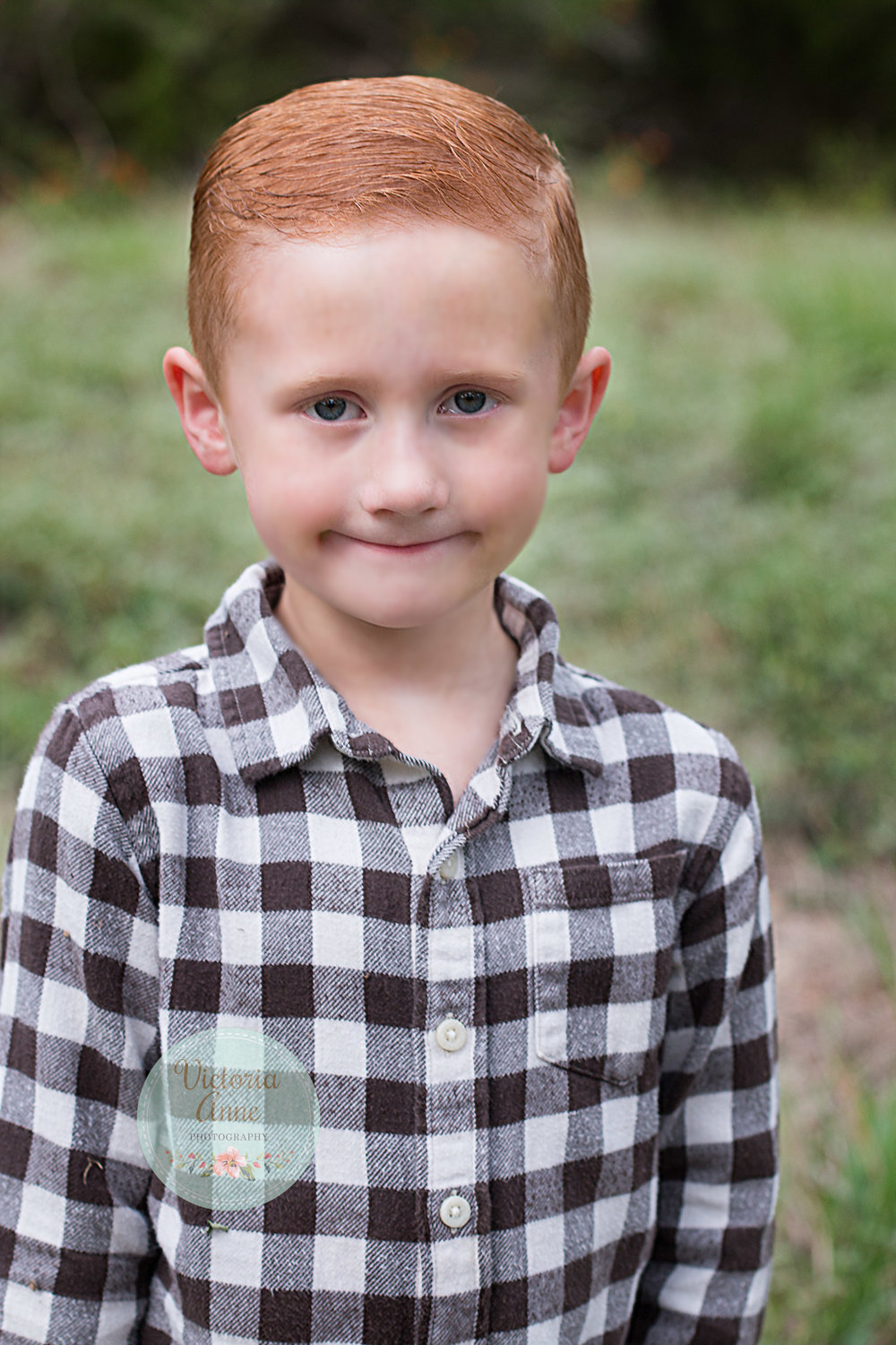 Fox Connor - He started 1st grade, football, and loves being a big brother.
