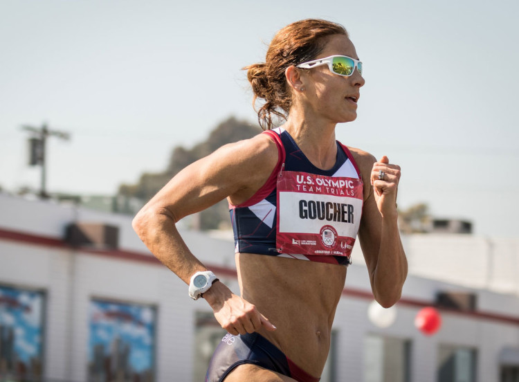 Kara Goucher, one of my running heros; photo courtesy of Oiselle.