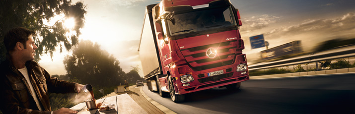 Actros View website