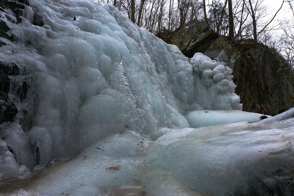 Kilgore Falls Frozen