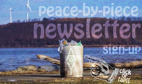 Peace to Piece Newsletter Banner